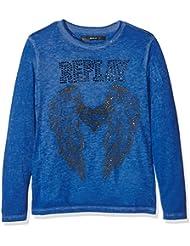 REPLAY Longsleeve, Camiseta de Manga Larga Para Niños
