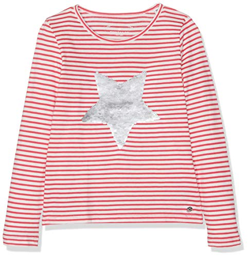 TOM TAILOR Kids Baby-Mädchen Langarmshirt T-Shirts 1/1 Rosa (Azalea|pink 2080), 92 (Herstellergröße: 92/98)