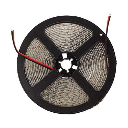 Preisvergleich Produktbild TOOGOO(R) 5M Wasserdicht Superhell 600 3528SMD LED Leiste Strip Band Streif Weiss fuer Deko