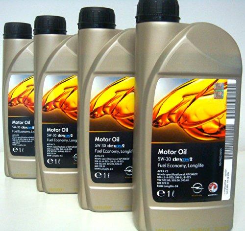 general-motor-oil-5w30-dexos-2-fuel-economy-long-life-4-barattoli-da-1-litro-euro-lt-900