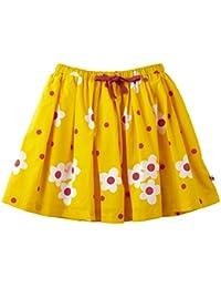 Piccalilly falda algodón amarillo orgánico de margarita