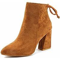 Plus Cachemire Secouant Chaussures Femelle Fond Épais Muffin Loisirs Coton Bottes Plates Chaussures en Dentelle de Coton , marron , 34,50 EUR