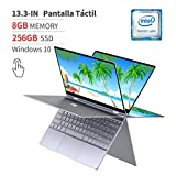 BMAX Y13 Notebook 2 in 1 Convertible Laptop Touchscreen 13.3 pollici 1920x1080 FHD Blacklit Keyboard (Intel Quad Core N4100, 8GB RAM, 256GB SSD, Windows 10 Home)