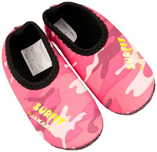 Surfit - Scarpe acquatiche per bambina, modello Camou, Rosa (Rosa - Pink Camouflage), 2-3