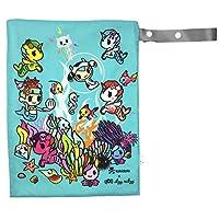 Itzy Ritzy - Travel Happens - Wet Bag - Tokidoki Underwater Adventure - Medium