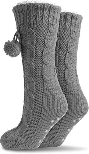 Pantofole Da Donna Morbide Con Addominali In Diversi Colori - Pantofole Da Donna Super Morbide - Qualità Di Grigio Normani®