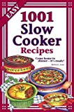 1001 Slow Cooker Recipes by Barbara C. Jones (2011) Hardcover