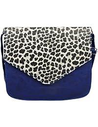 Trendz Girl's Sling Bag(Blue,363)