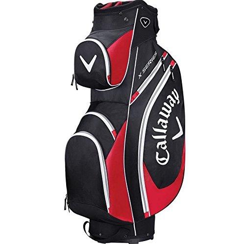 Callaway pour homme Série X Sacs de club de golf Taille unique noir/rouge/blanc