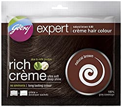 Godrej Expert Rich Crme, Natural Brown