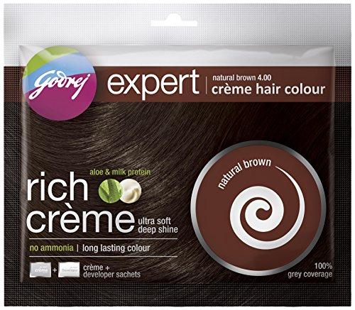 Godrej Expert Rich Crème, Natural Brown