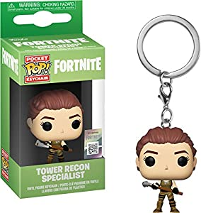 Funko- Pocket Pop Fortnite Tower Recon Specialist Figura Coleccionable, Multicolor (36951)