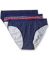 Dim Les Pockets Coton X3, Slip Femme