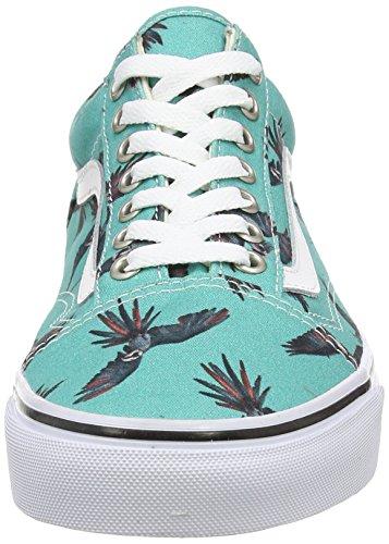 Vans Unisex-Erwachsene Old Skool Sneaker Türkis (dirty Bird/turquoise/true White)