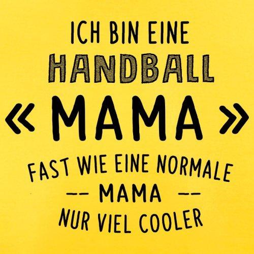 Ich bin eine Handball Mama - Herren T-Shirt - 13 Farben Gelb