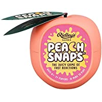 Ridley's Games GME021 Peach Snaps Game in CDU of 6