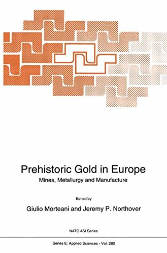 Prehistoric Gold in Europe: Mines, Metallurgy And Manufacture (Nato Science Series E: (Closed))