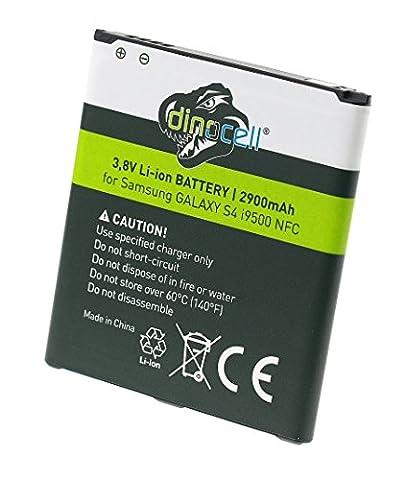 Dinocell® 2900mAh NFC Akku für original Samsung Galaxy S4 & S4 LTE GT-i9500 / GT-i9505, ersetzt EB-B600BE / EB-B600BC / EB-B600BU, GT-i9295 Galaxy S4 Active / GT-i9502 Galaxy S4 DuoS / GT-i9505 Galaxy S4 LTE / GT-i9506 Galaxy S4 LTE, NEU mit NFC Technologie