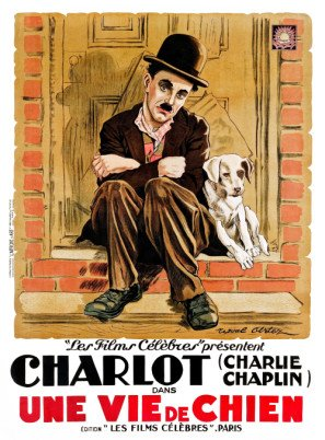 A DOG'S LIFE – Charlie Chaplin – French Imported Movie