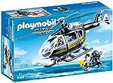 Playmobil - Hélicoptère et policiers d'élite - 9363