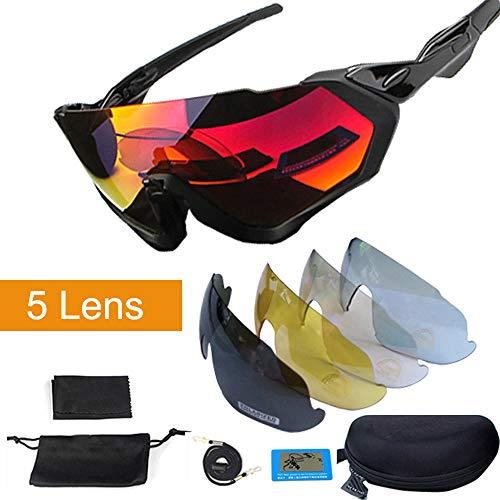 ZKAMUYLC Sonnenbrille5 objektiv Radfahren Sonnenbrillen polarisierte männer Frauen sportbrillen MTB Fahrrad Brillen Bicicleta gafas Ciclismo Goggles