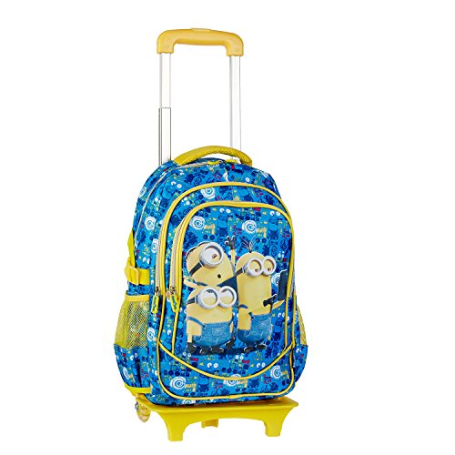 Mochila carrito de Los Minions de color azul