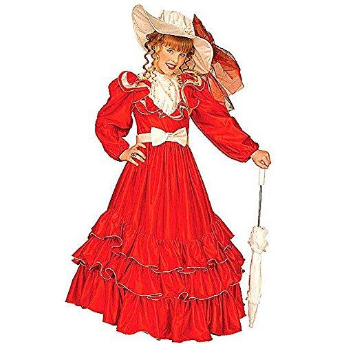 Scarlett-Kostüm für Mädchen - 11-13 ()