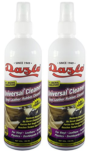 dazlo® universal cleaner (2x190ml) - vinyl, leather & dashboard cleaner Dazlo® Universal Cleaner (2x190mL) – Vinyl, Leather & Dashboard Cleaner 51JqNscWCtL