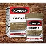 Swisse Ultiboost Energia B+ è una formulazione multi-nutriente, contenente vitamine e minerali per integrare la tua nutrizione.Metabolismo Energetico: Le vitamine B1, B2, B3, B5, B6, B7, B12, la vitamina C e il magnesio contribuiscono al norm...
