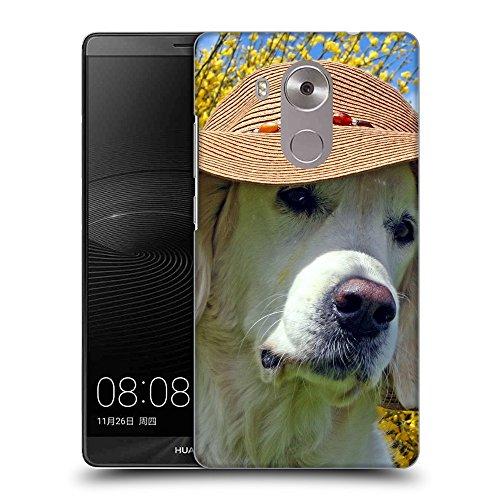 Super Galaxy TPU Gel Funda Carcasa Tapa Case Cover para // V00003514 labrador che porta il cappello spiaggia // Huawei Ascend Mate