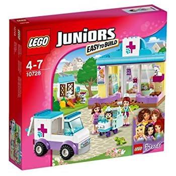 Lego 10728 Juniors Mias Vet Clinic Amazoncouk Toys Games