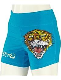 Ed Hardy Sports shorts tiger face WSHTIG009 Damen Hose