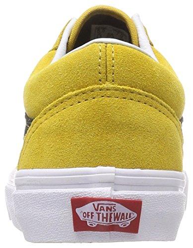 89912fce3b ... Vans Lace Damen Oversized Sneakers Skool Gelb Old qnqxpTfrWw ...