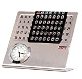 #6: Doma Desktop Calendar with Clock (11 cm x 11 cm x 5 cm)