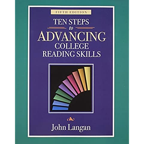 Ten Steps to Advancing College Reading Skills: Reading Level: 9-13 (Townsend Press Reading Series) by John Langan (2010-01-04) - 10 Reading Level