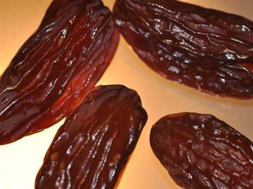 Preisvergleich Produktbild Datteln Deglet Nour,  200g,  Trockenfrüchte,  entsteint,  unbehandelt,  zum Naschen,  Backen und als Müslibeigabe