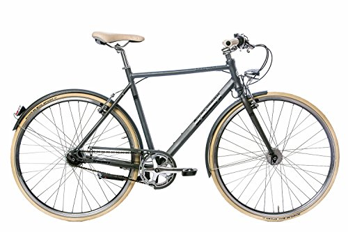 Tretwerk Coolman 28 Zoll Citybike Grau (2017), 52