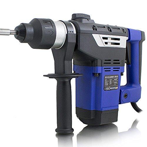 elektro bohrhammer BITUXX® Bohrhammer Schlagbohrer 1800W Schlagbohrmaschine Abbruchhammer Meißelhammer SDS-Plus + 6 Joule 1800W 4100S/min 2x Meißel