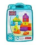 #9: Mega Builders 123 Count, Multi Color
