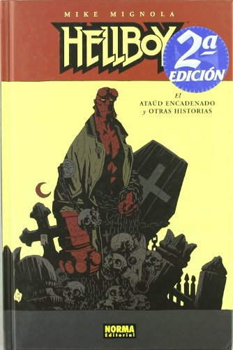 HELLBOY 03: EL ATAÚD ENCADENADO Y OTRAS HISTORIAS (Ed. Cartoné) (MIKE MIGNOLA)