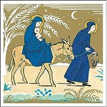 Tarjetas navideñas–Unión–5tarjetas de Navidad para caridad. Vendido en apoyo de Marie Curie
