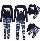 Tomatoa Sleepwear Set Kleidung Pyjamas NachtwäSche Damen Herren Erwachsene Lange Pyjama Sets Homewear Outfit für Vater Mutter Kinder Baby