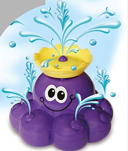 Highdas Octopus Stream-Tub Schwimmende Brunnen-Bad-Spielzeug Bath Time Toss Plaything Wasserspielzeug (Bad Spielzeug Brunnen)