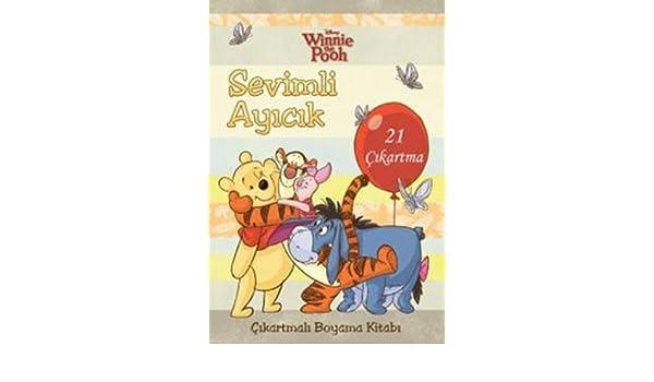 Sevimli Ayıcık çıkartmalı Boyama Kitabı Winnie The Pooh 21 çıkartma