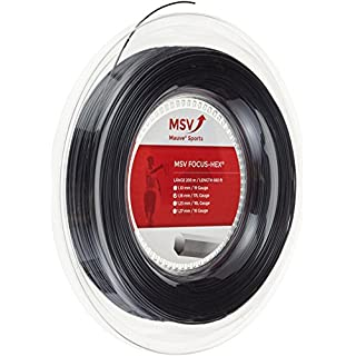 MSV Saitenrolle Focus-HEX, Schwarz, 1.23mm, 0355000126800030