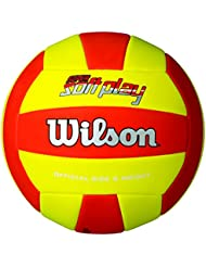 Wilson Super Soft Play Pelota, Rojo / Amarillo, Talla Única