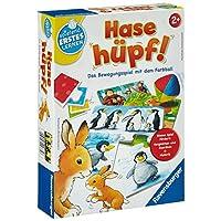 Ravensburger-24735-Hase-Hpf Ravensburger Spielen und Lernen 24735 – Hase hüpf! -