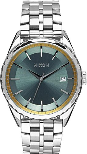 Nixon Unisex-Adult Analogue Classic Quartz Watch with Stainless Steel Strap A934-2162