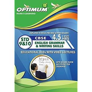 Optimum Educators Cbse English Grammar & Writing Skills Std 9 & 10 Educational DVDs