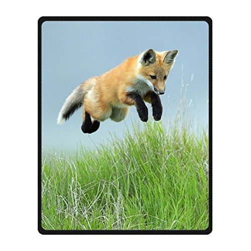 Dalliy Fuchs Fox Mikrofaserdecke Cozy kuscheldecke Fleeze Blanket 40